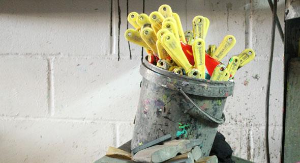 Recyclage du matériel de sérigraphie
